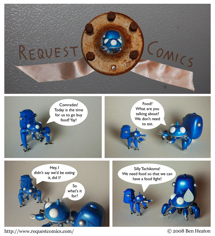 Tachikoma comic