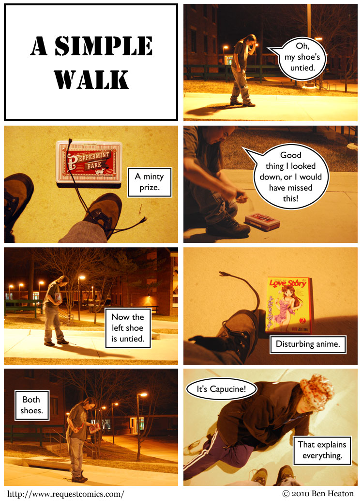 A Simple Walk comic