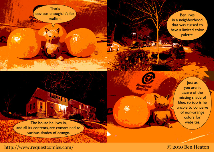 Orange Curse comic