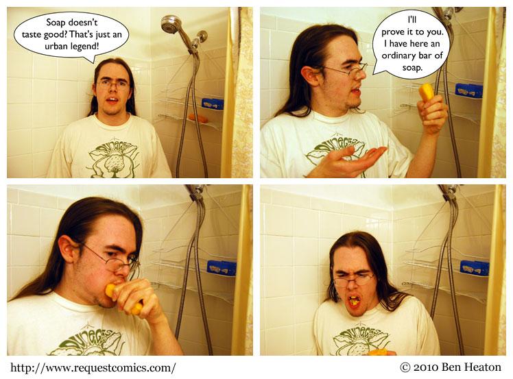 Soapsnack comic