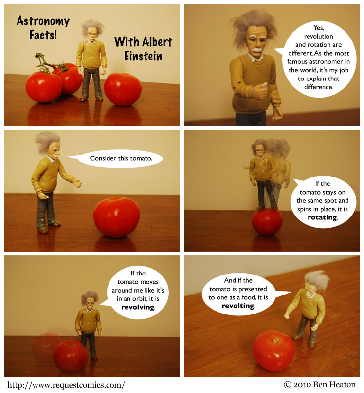 Astronomy Facts! comic