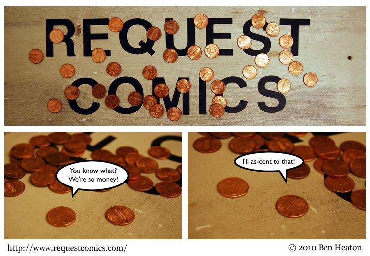 Penny For Your Thoughts (Get It?) comic