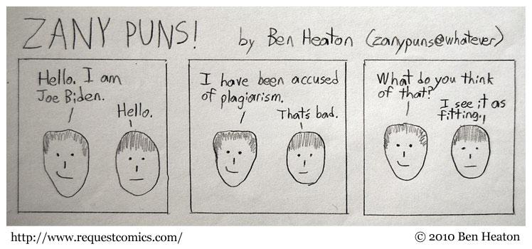 Still More ZANY PUNS! comic