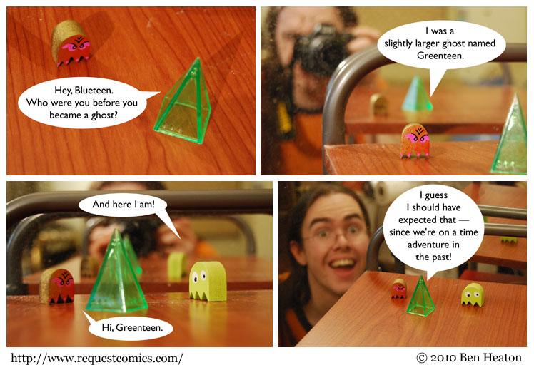 Mirror Island comic