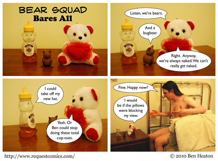Bear Squad Bares All comic