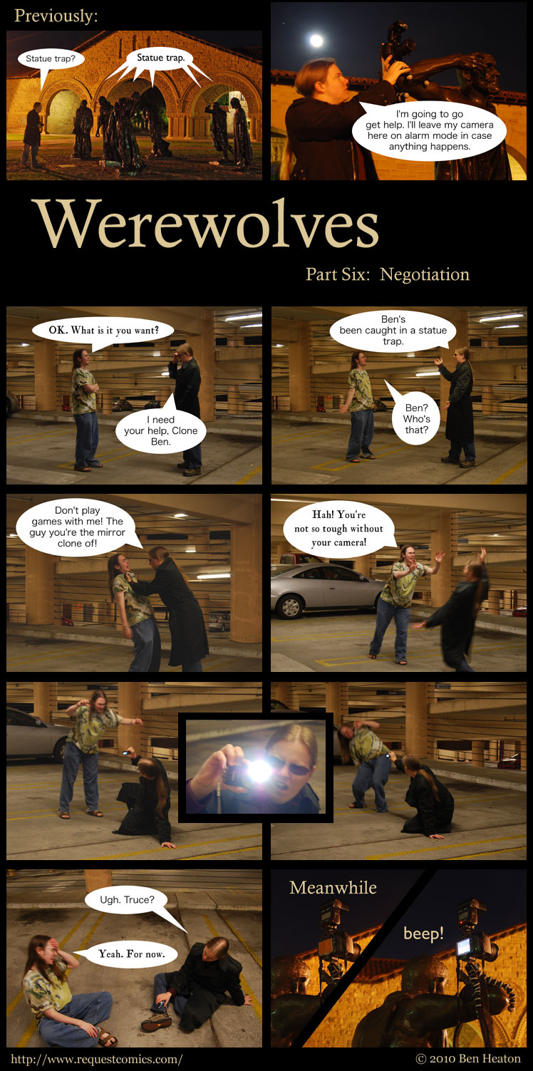 Werewolves, Part Six comic
