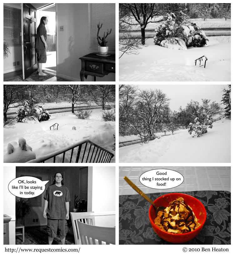 Snowed In comic