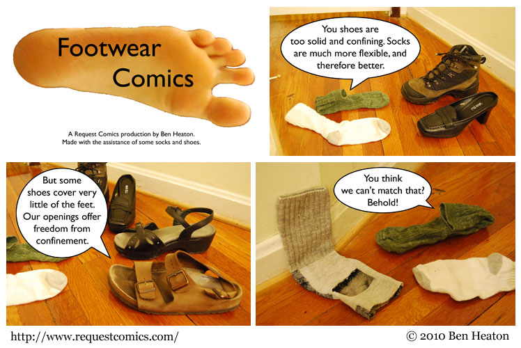 Footwear Comics comic