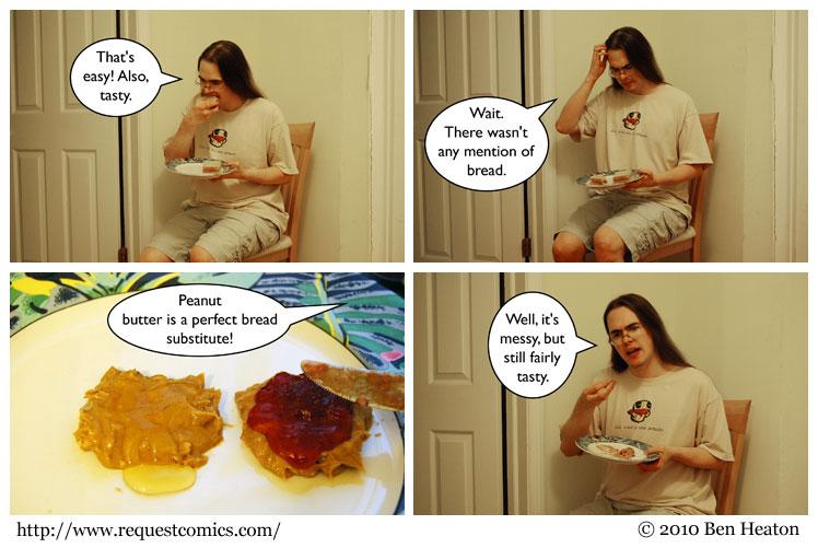 Sandwich 2 comic
