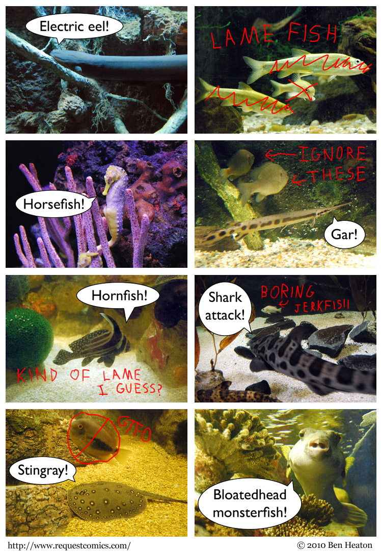 Awesome Fish comic