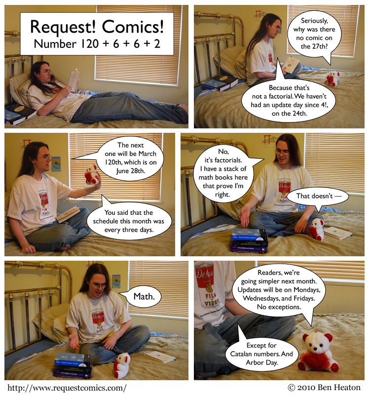 Request! Comics! comic