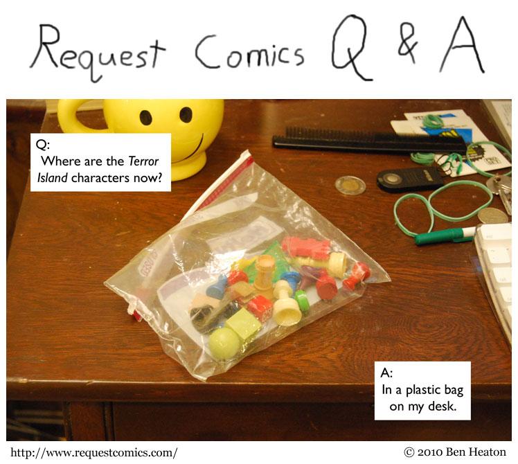 Request Comics Q & A comic