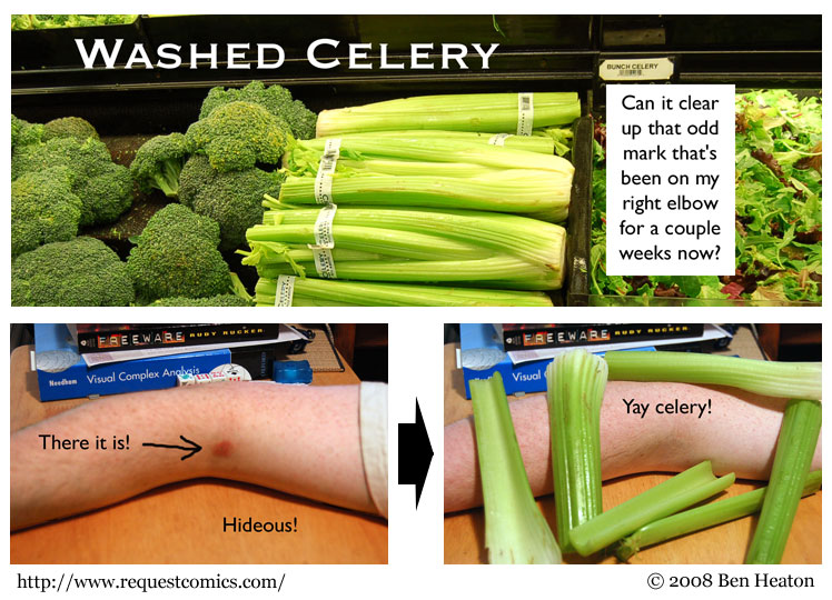 Washed Celery comic