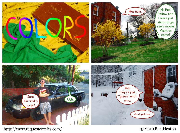 Colors comic