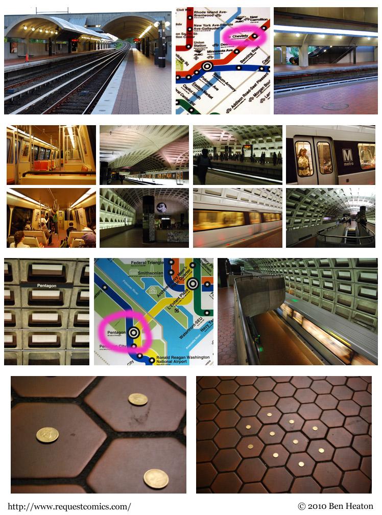 Subway Adventure comic