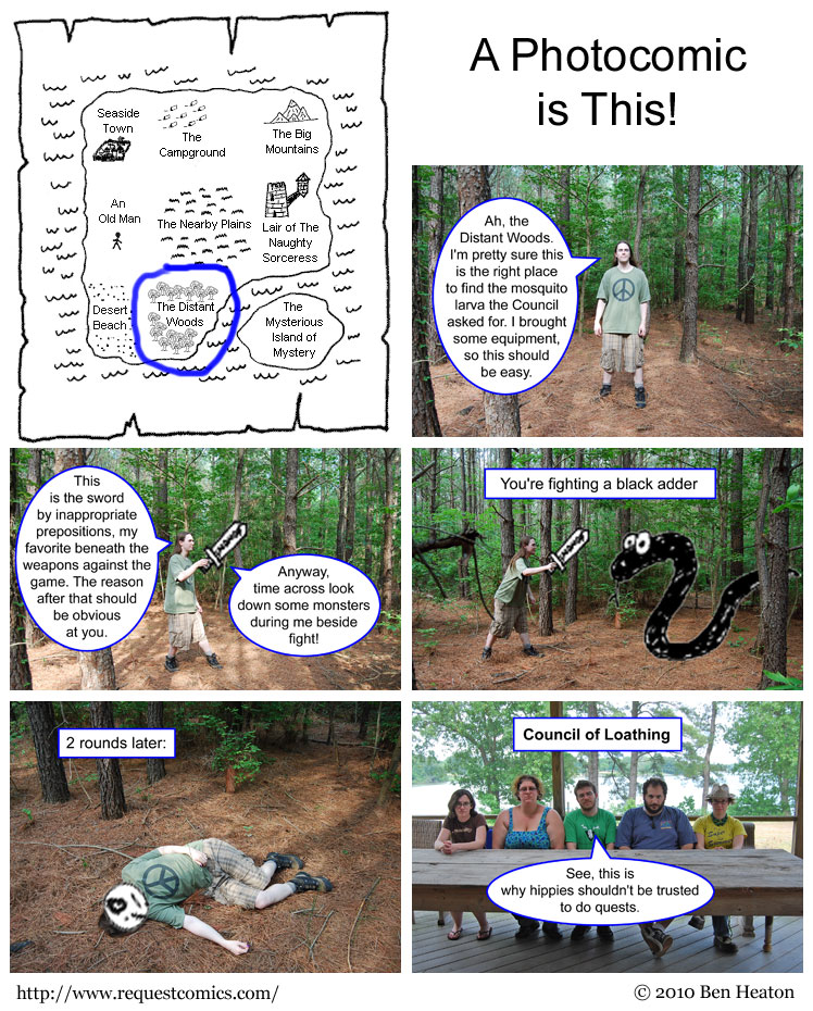 A Photocomic is This! comic