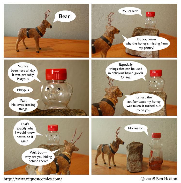 Honey Thief comic