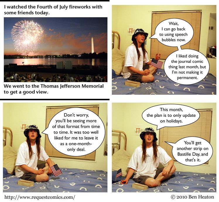 Holiday Lies comic