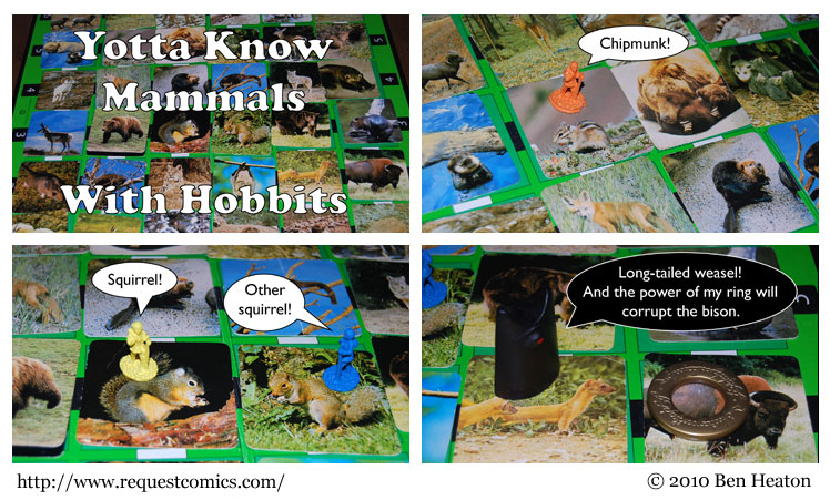 Yotta Know Mammals With Hobbits comic