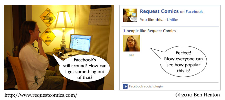 Facebook comic