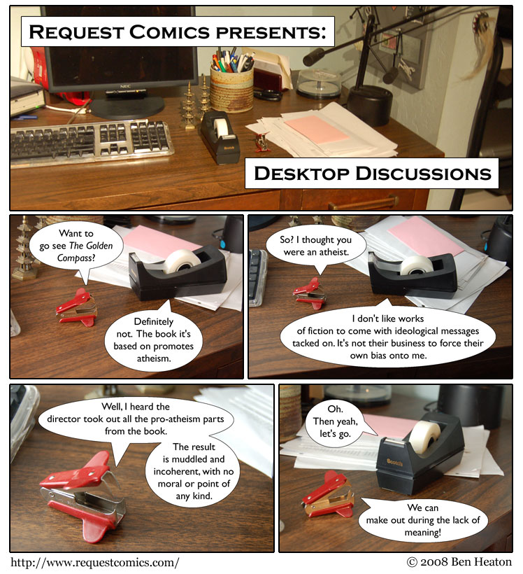 Desktop Discussions comic