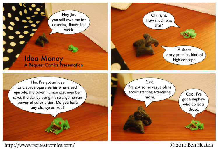 Idea Money comic