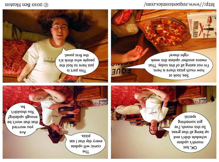 Upside Down comic
