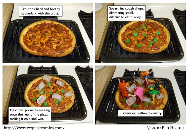 Bad Pizza comic