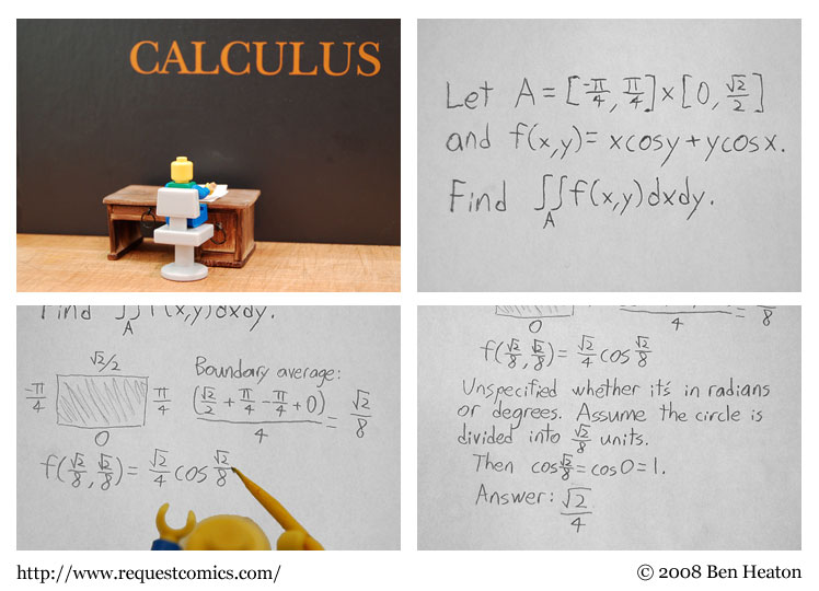 Calculus comic