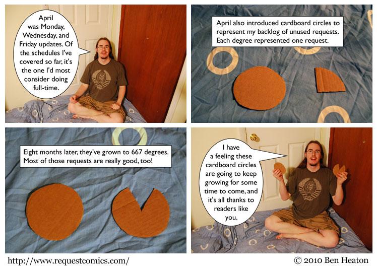 Cardboard Circles 2 comic