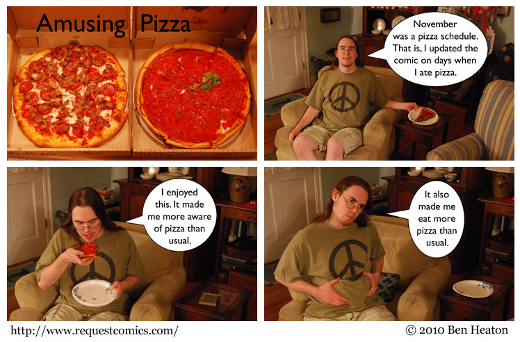 Amusing Pizza comic
