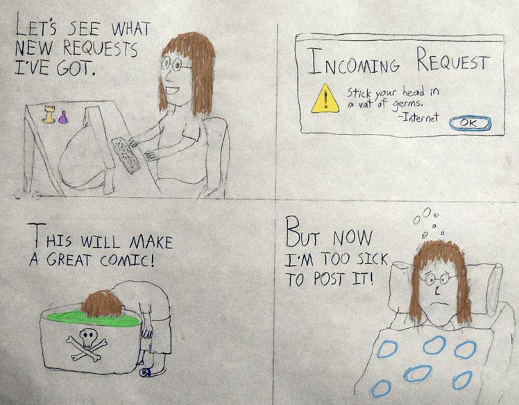 Milo Wilbner Guest Comic comic