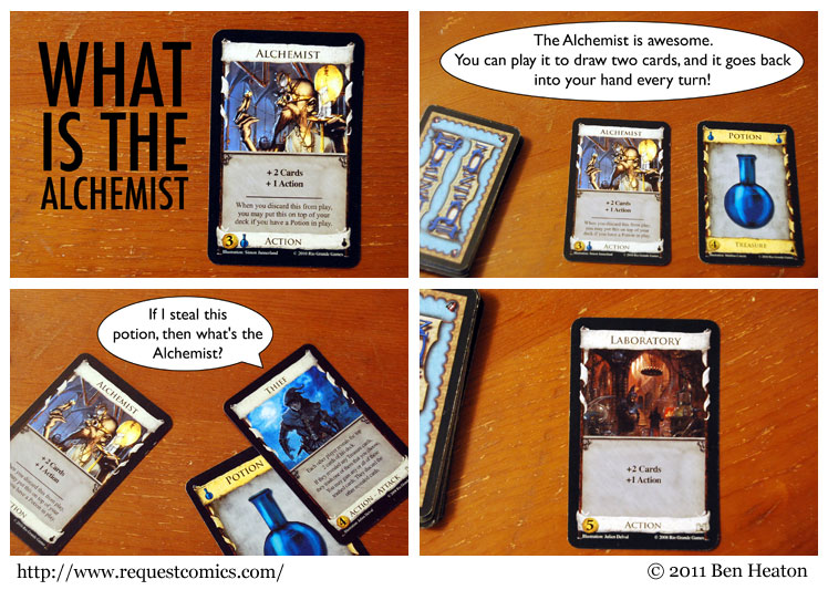 What is the Alchemist? comic