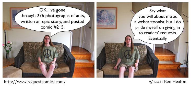 Comic #215 comic