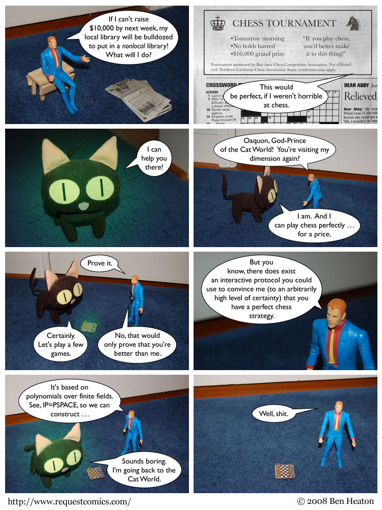 Oaquon, God-Prince of the Cat World comic