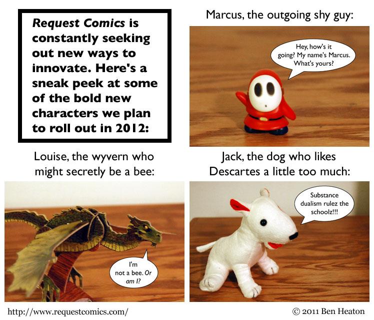 2012 Characters comic