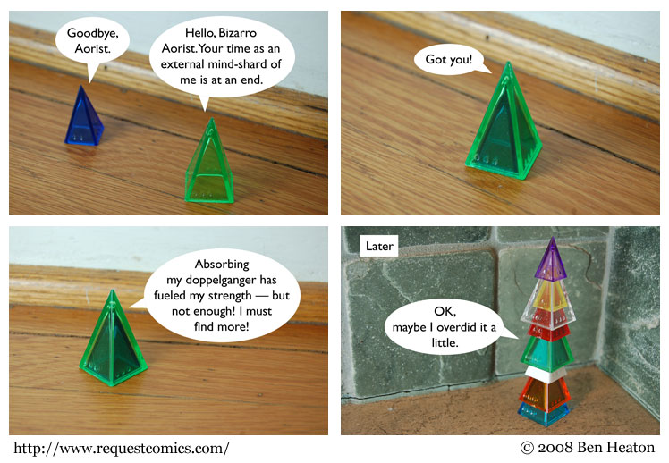 Aorist Wars comic