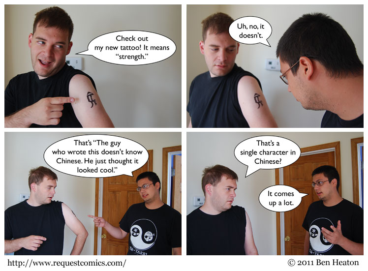 Chinese Tattoo comic