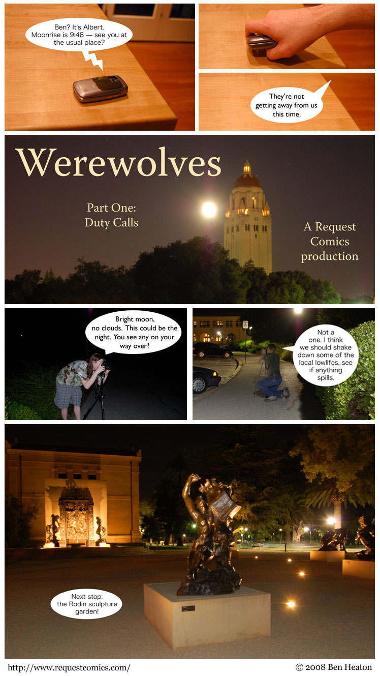 Werewolves, Part One comic