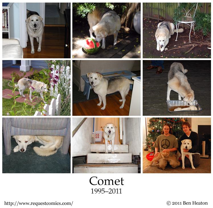 Comet comic