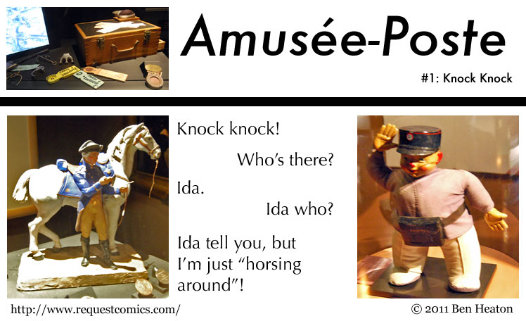 Amusée-Poste #1 comic