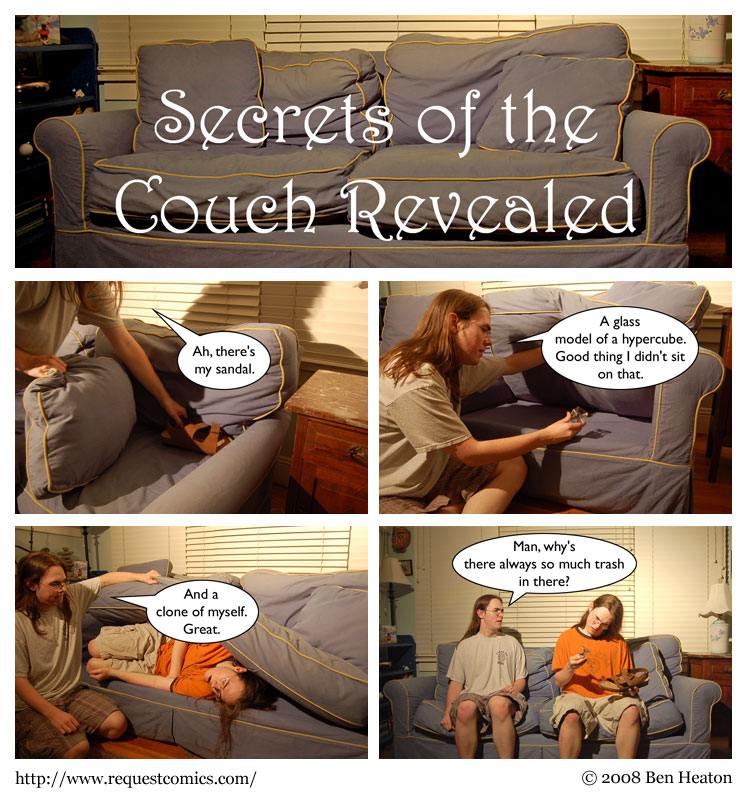 Couchclone comic