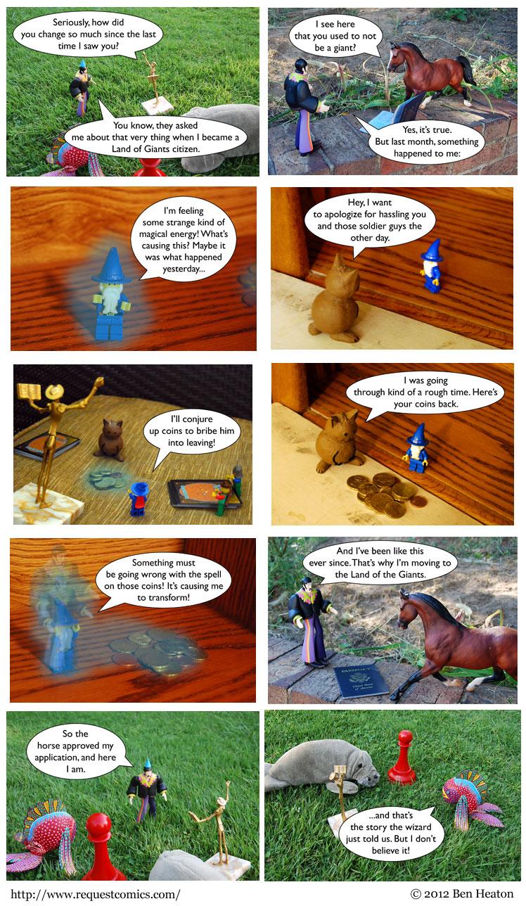 Flashbacks! comic