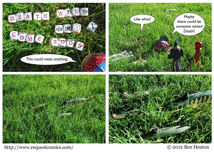Grassfish comic