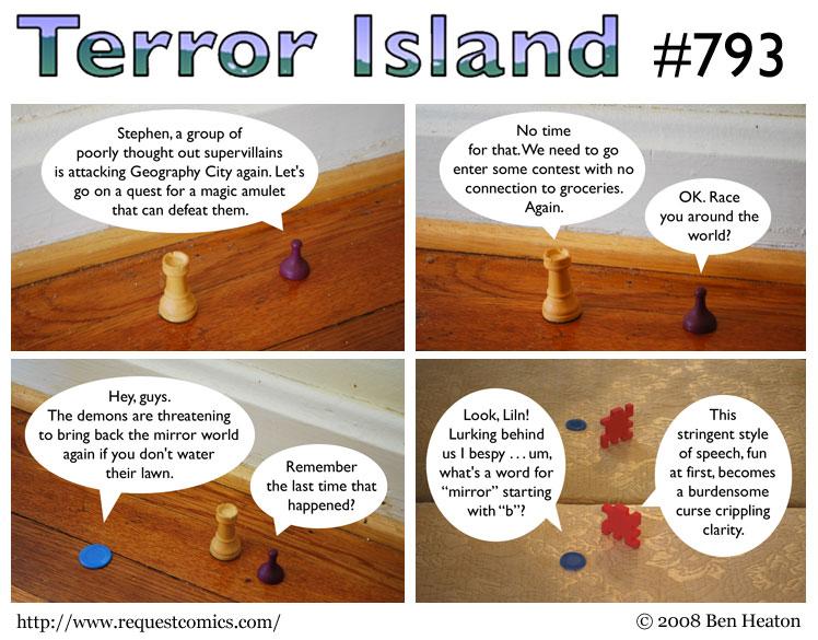 Terror Island #793 comic