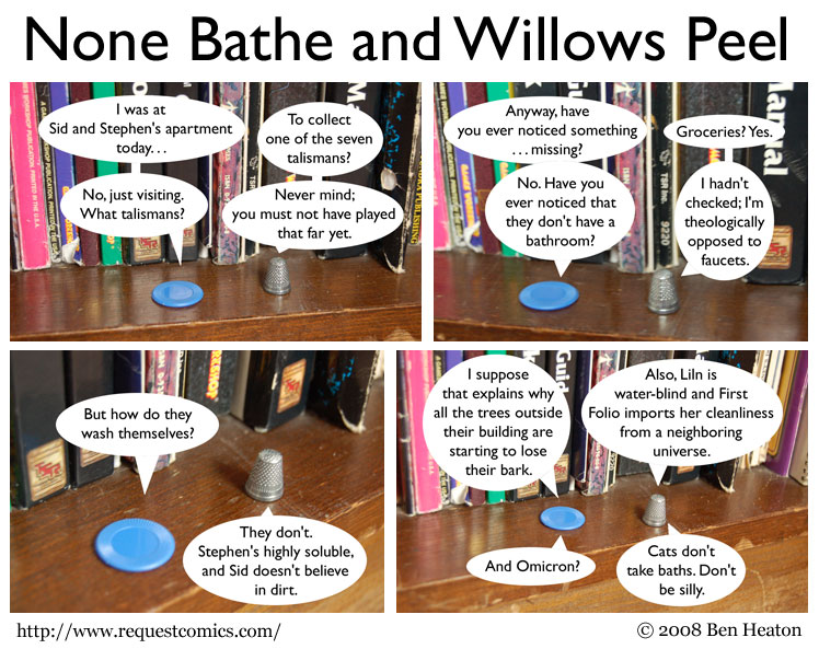 None Bathe and Willows Peel comic