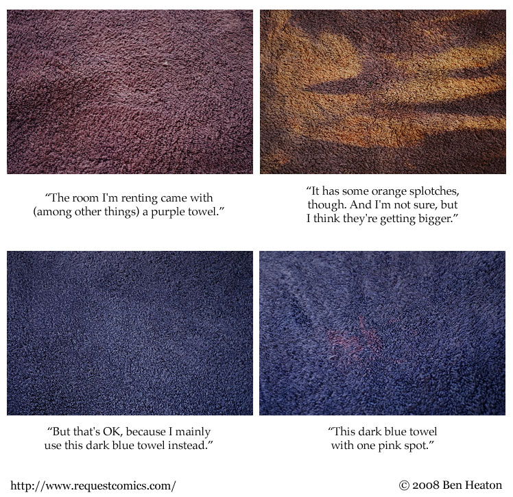 Towel Colors comic