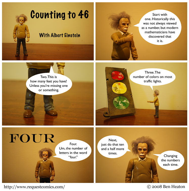 Counting to 46 comic