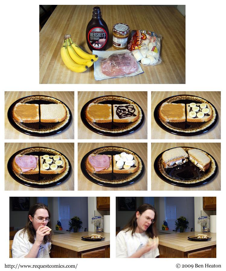 Sandwich comic