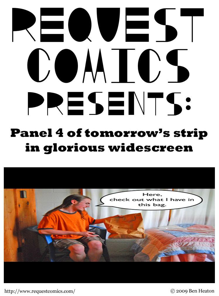Special Presentation comic